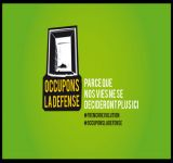 #OccupyDefense, #OccupyFR, #OccupyTogether !