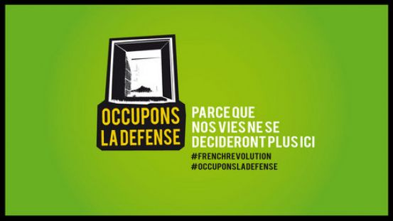 #OccupyDefense, #OccupyFR, #OccupyTogether !