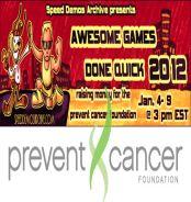 Speedruns pour prévenir le cancer