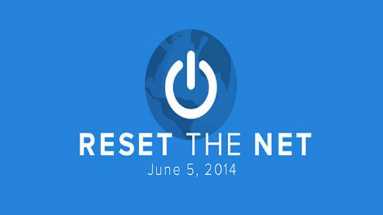 Reset The Net, le 5 Juin